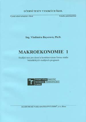 Bayerová Vladimíra: Makroekonomie 1