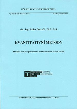 Doskočil: Kvantitativní metody