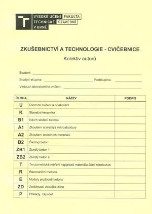 Kolektiv autorů: Zkušebnictví a technologie - cvičebnice
