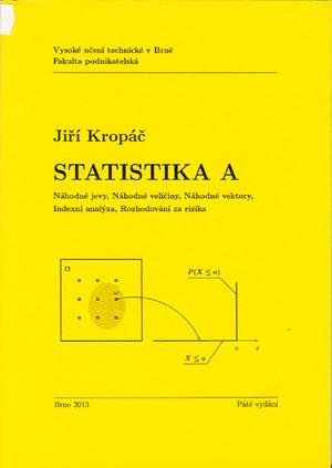 Kropáč Jiří: Statistika A
