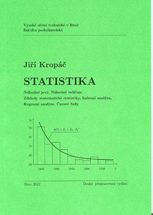 Kropáč Jiří: Statistika