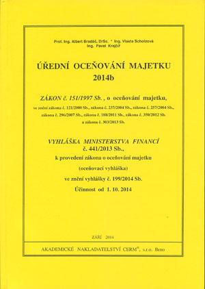 Bradáč, Scholzová, Krejčíř: Úřední oceňování majetku 2014b
